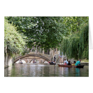 Punting in Cambridge Card