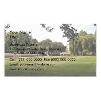 Punting on the Cambridge Business Cards