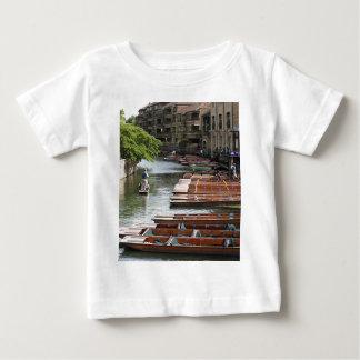 Punts at Cambridge, England Baby T-Shirt