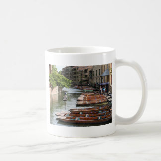 Punts at Cambridge, England Coffee Mug