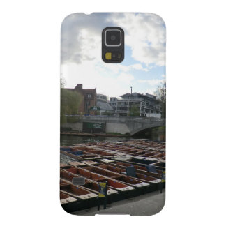 Punts on the River Cam in Cambridge Cases For Galaxy S5