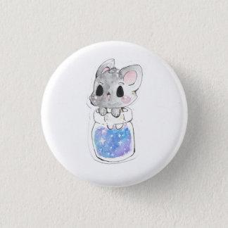 Pup-Bottle Galaxy 1 Inch Round Button