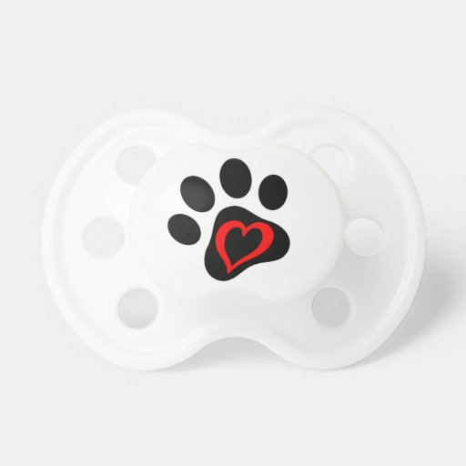 Pup-cake the Service Dog Pacifier