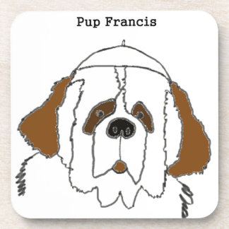 Pup Francis for Small Items Coaster