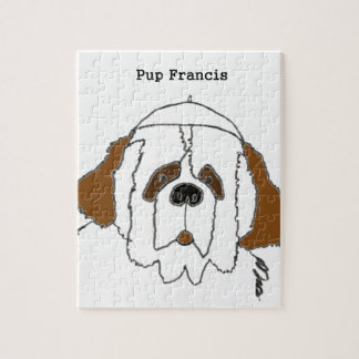 Pup Francis for Small Items Jigsaw Puzzle