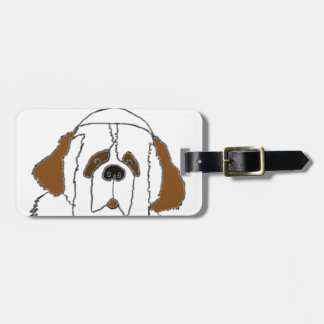 Pup Francis for Small Items Luggage Tag
