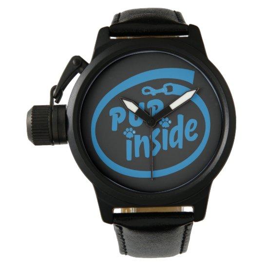 Pup-inside watch