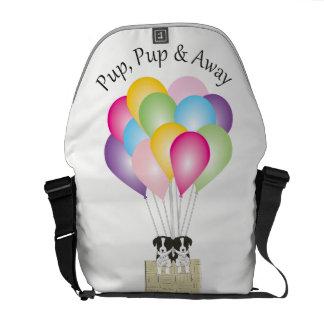 Pup Pup & Away Messenger Bag