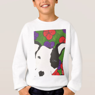Pup with Heart Nose Sweatshirt