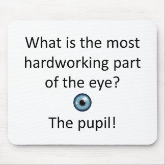 Pupil Joke Mouse Pad