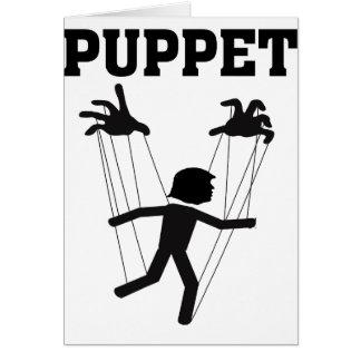 puppet card
