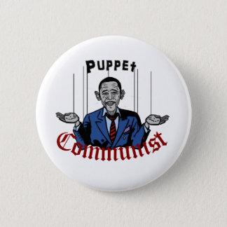 Puppet Comunist 2 Inch Round Button