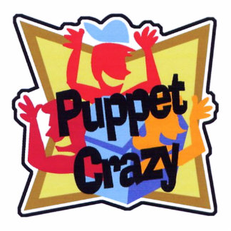 Puppet Crazy Keychain Photo Cutout