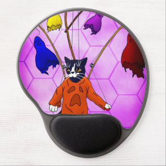Puppet Master Cat Gel Mouse Pad