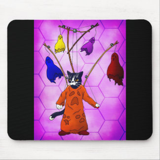 Puppet Master Cat Mouse Pad