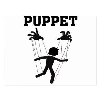 puppet postcard