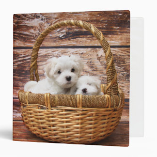 Puppies In A Basket Binders