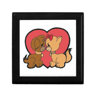 Puppies in Love Gift Box