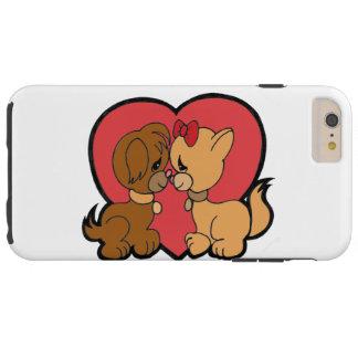 Puppies in Love Tough iPhone 6 Plus Case