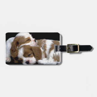 Puppies Luggage Tag