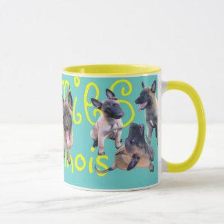 puppies malinois mug