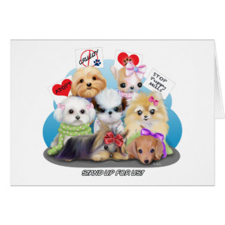 Puppies Manisfesction Card