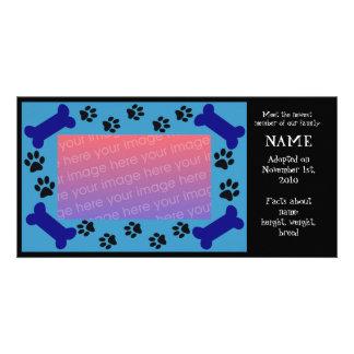 Puppy Adoption Card Photo Card Template