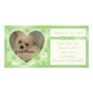 Puppy Announcement Card