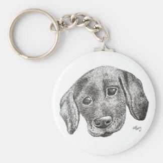 Puppy Art Keyring
