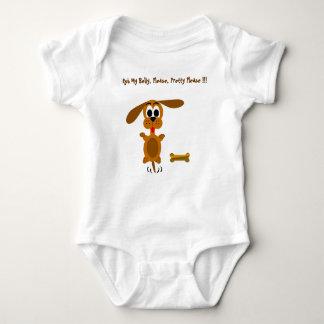 Puppy   baby bodysuit