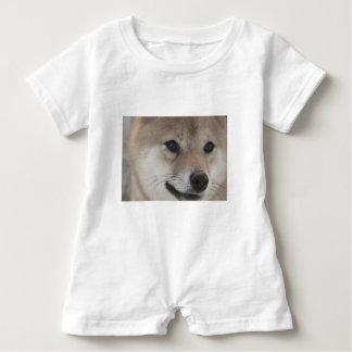 puppy baby romper