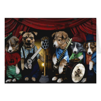 Puppy Band Card