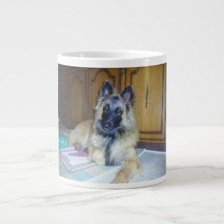 puppy Belgian_Tervueren.png Large Coffee Mug