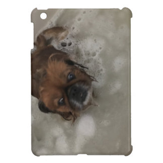 PUPPY BUBBLES iPad MINI CASE