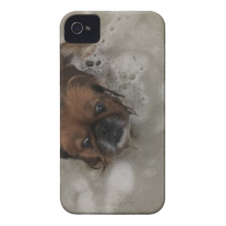 PUPPY BUBBLES iPhone 4 Case-Mate CASE