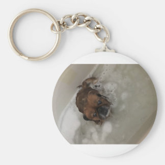PUPPY BUBBLES KEYCHAIN