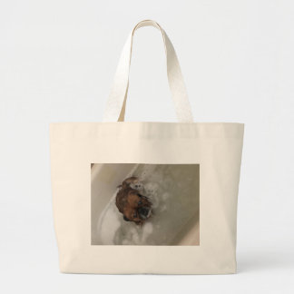 PUPPY BUBBLES LARGE TOTE BAG