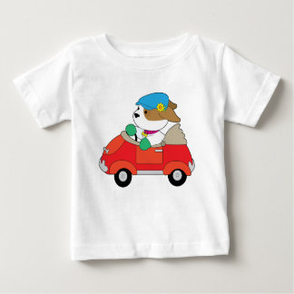 Puppy Car Baby T-Shirt