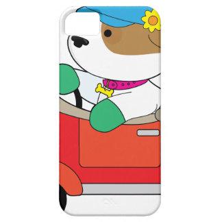 Puppy Car iPhone 5 Cases