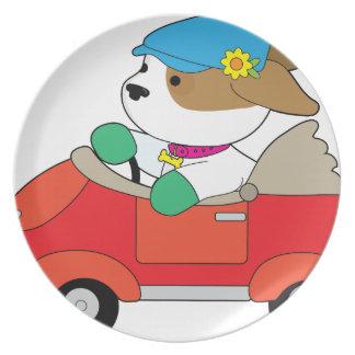 Puppy Car Plate