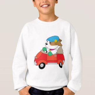 Puppy Car Sweatshirt