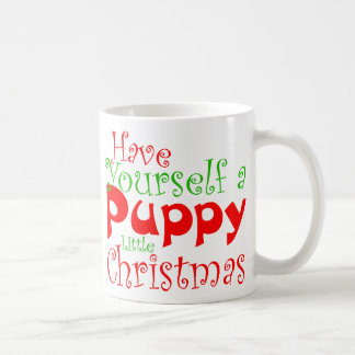 Puppy Christmas Holiday Mug