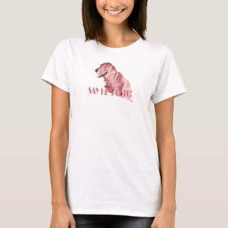 puppy copy, WARNING: Dog Lover, ** T-Shirt