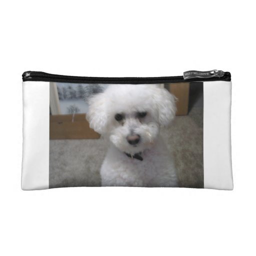 Puppy dog bag cosmetic bags