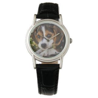 Puppy Dog Beagle Wrist Watches