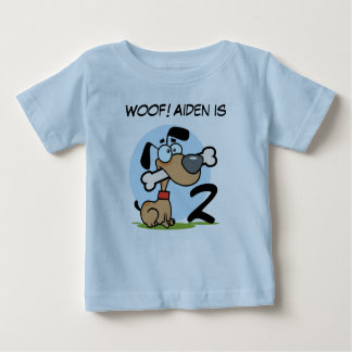 Puppy Dog Customizable Birthday Tshirts