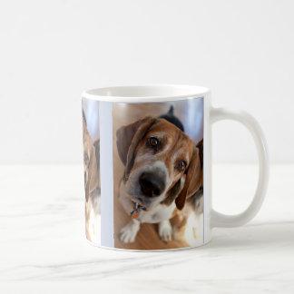 Puppy Dog Lover 3 Custom Photos Coffee Mug