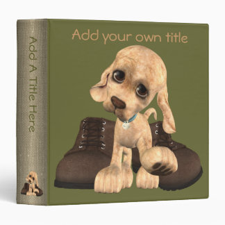 "Puppy Dog Tales 1.5"" Binder"