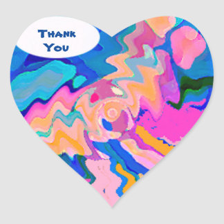 Puppy Dog Thank You Stickers
