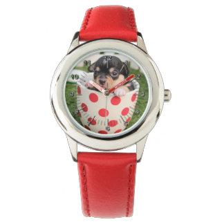 Puppy dog wrist watches
